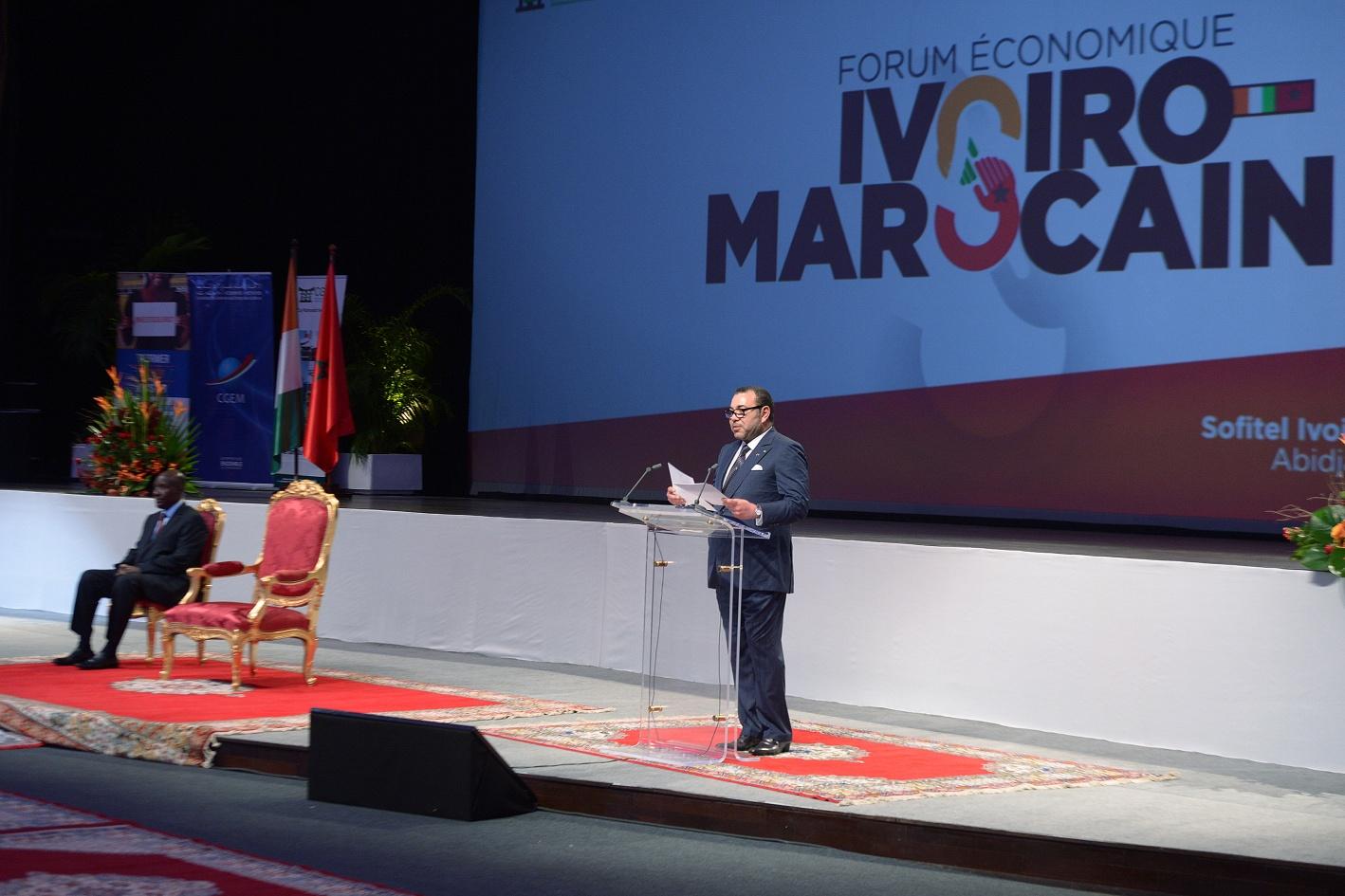 Discurso de sm el rey mohammed vi en la ceremonia de apertura del foro econ mico de marruecos - Le roi du matelas heures d ouverture ...