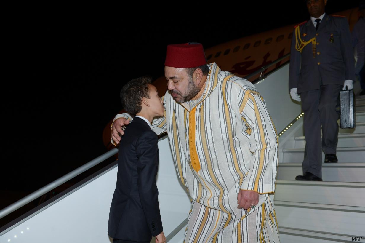 SM el Rey vuelve a Marruecos
