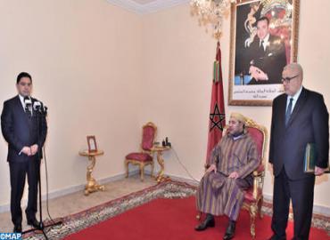 SM El Rey nombra a Nasser Bourita, ministro delegado ante el Ministro de Asuntos Exteriores y de Cooperación