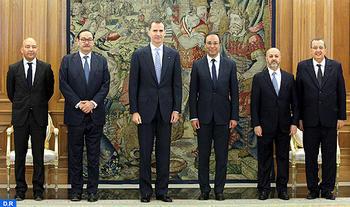 Amara recibido en audiencia por el Rey Felipe VI de España