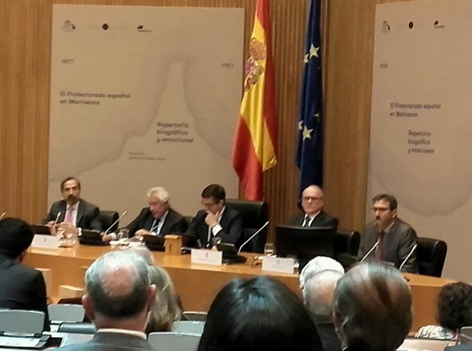 Presentación de un libro sobre el Protectorado español en Marruecos