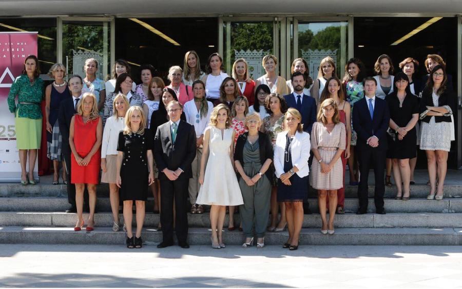 Entrega de los XXV premios de la Federación Española de Mujeres Directivas, Ejecutivas, Profesionales y Empresarias (FEDEPE)