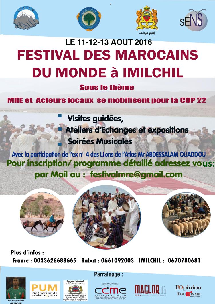 Festival de los Marroquíes del Mundo en Imilchil