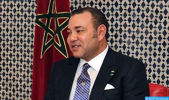 SM le Roi, Amir Al Mouminine, reçoit  le porte-parole de la famille religieuse des Layennes