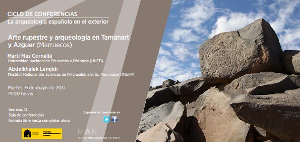 Conferencia sobre el Arte Rupestre y Arqueología