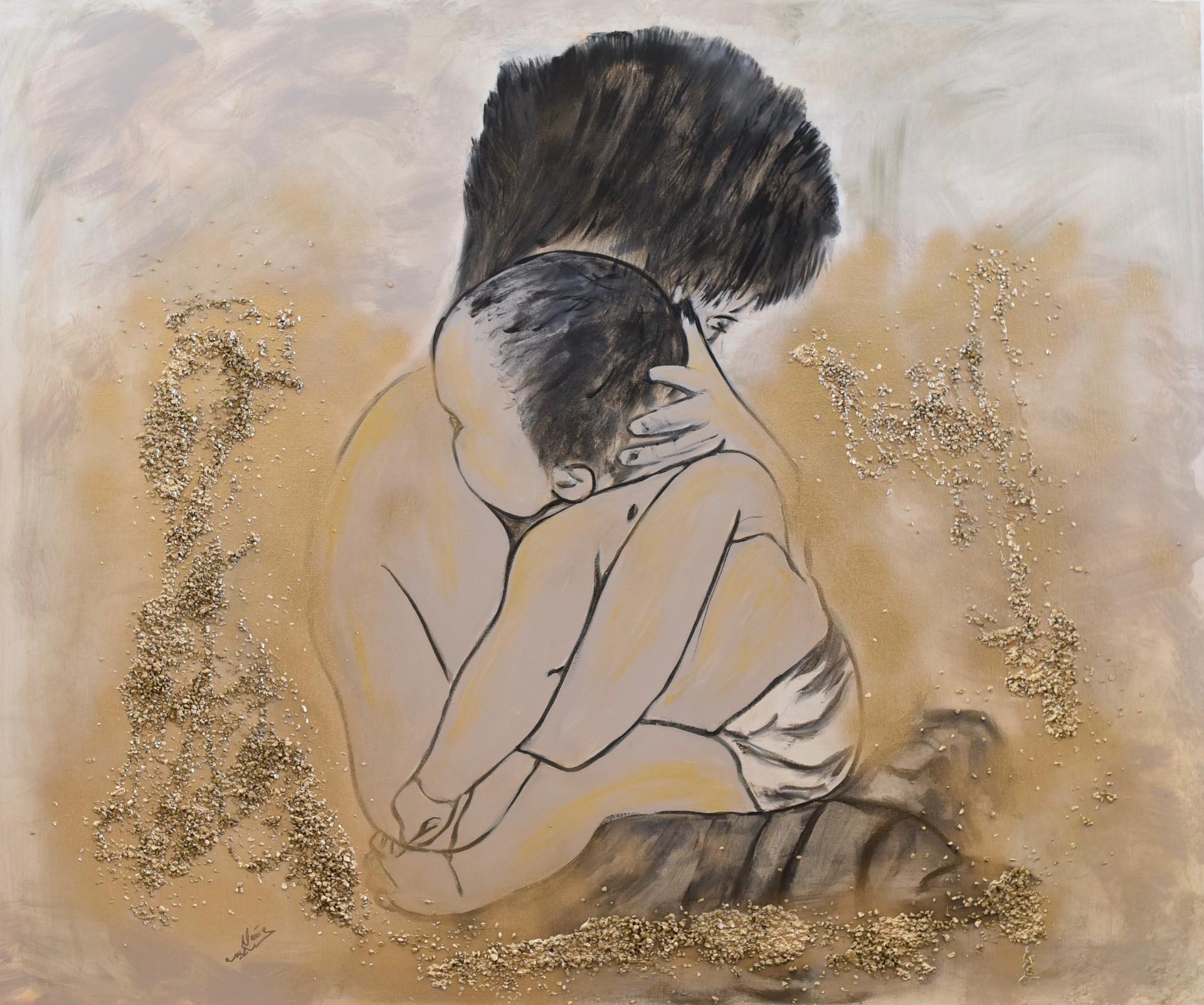 Exposición pictórica de Naïma Amsif