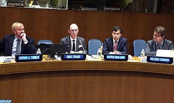 Seminario internacional sobre el Sáhara marroquí, la regionalización y la autonomía en la sede de la ONU