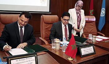 Firmado el Plan Marco de Asistencia de la ONU para el Desarrollo (MANUD) de Marruecos para el período 2017-2021