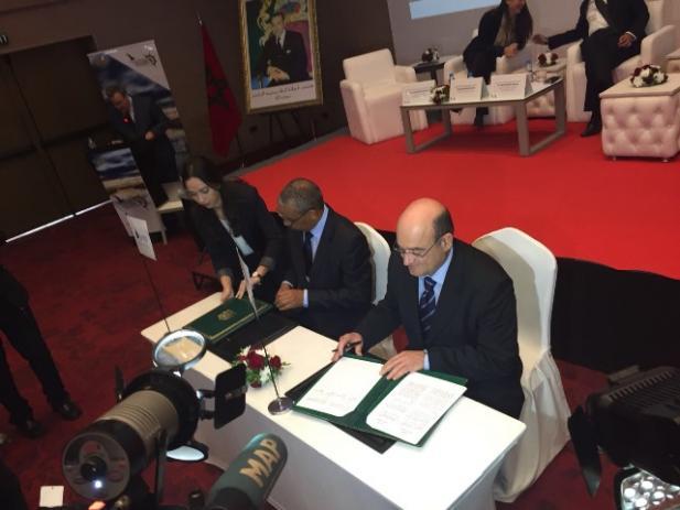 Firma convenio colaboracion españa marruecos