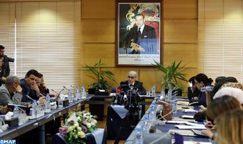 Le Wali de Bank Al-Maghrib, Abdellatif Jouahri, intervenant, mardi (19/12/17) à Rabat, lors d'une conférence de presse  à l'issue de la dernière réunion trimestrielle du Conseil de Bank Al-Maghrib au titre de 2017.