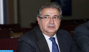 Le ministre de l'intérieur, Mohamed Hassad, s'entretient, mercredi (07/12/16) à Rabat, avec son homologue espagnol Juan Ignacio Zoido