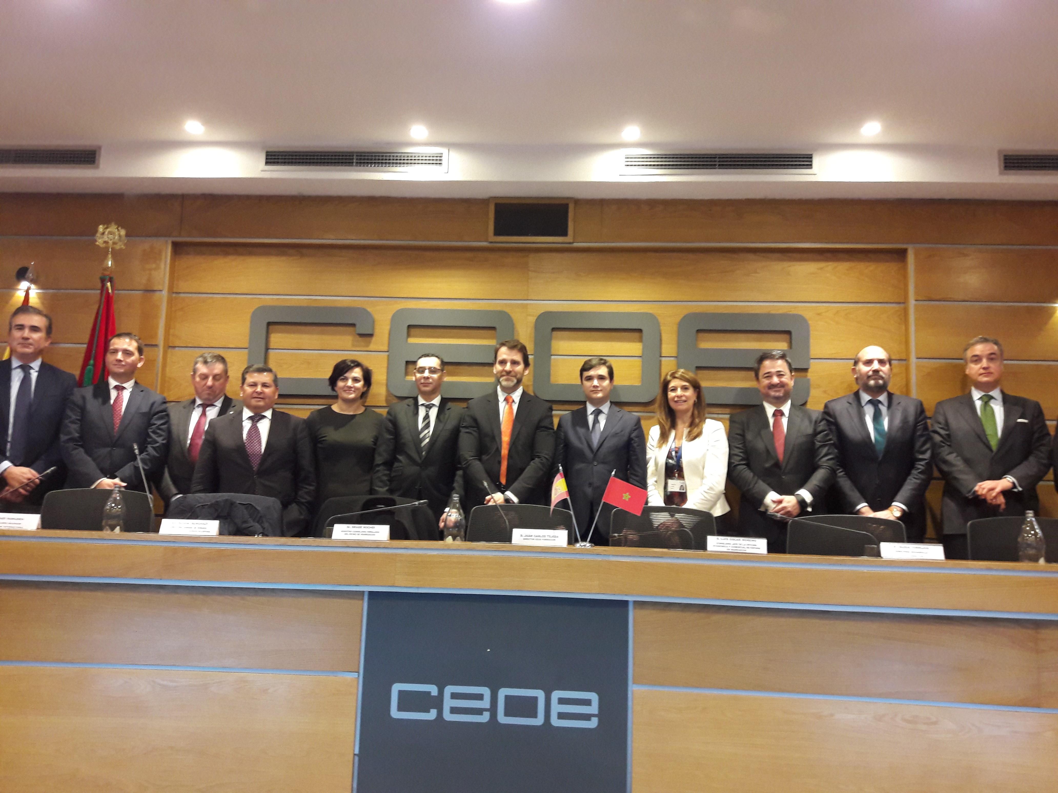 Presentación de la IIIª edición del Programa de Formación para la Internacionalización de empresas Españolas en Marruecos