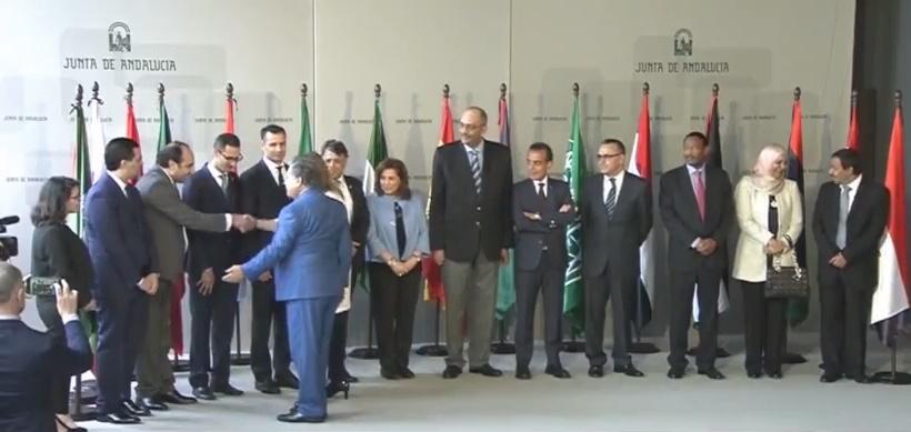 Marruecos participa en la visita oficial del Consejo de Embajadores Árabes en Andalucía