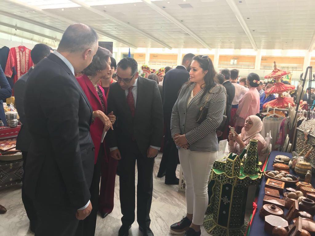 Participación de la Embajada a la XXIII edición del Bazar Diplomático Solidario en Madrid