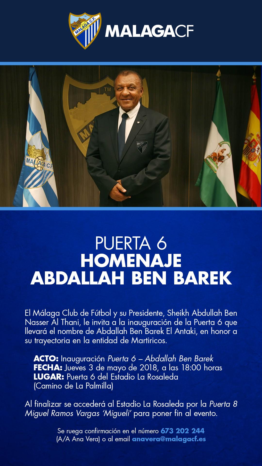 Invitacion Puerta Ben Barek