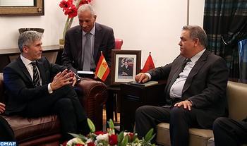Laftit y su homólogo español reiteran la necesidad de seguir consolidando la cooperación bilateral en la lucha contra el terrorismo
