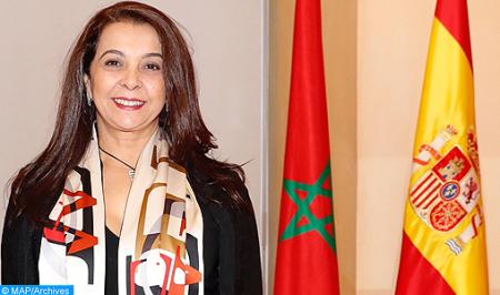 La Sra. Benyaich subraya en Madrid los avances de Marruecos en la promoción de los derechos de la mujer