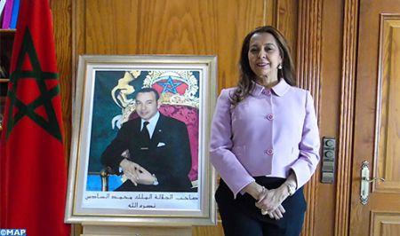 Madrid-Benyaich-visite officielle des Souverains d%u2019Espagne au Maroc-M