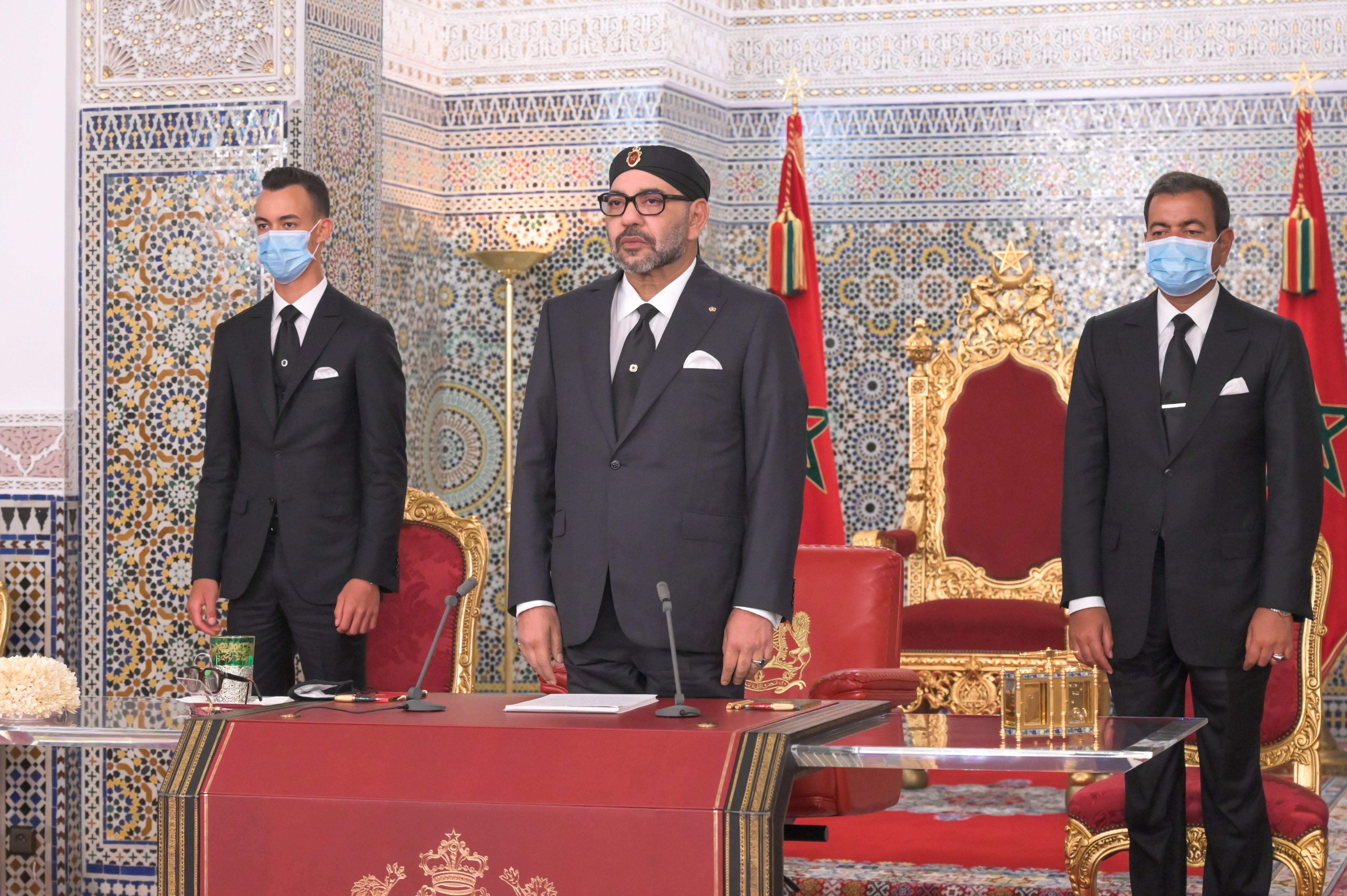 SM el Rey dirige un discurso a la Nación con motivo de la Fiesta del Trono