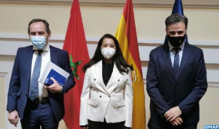 La gestión migratoria en el centro de una reunión entre Benyaich y el secretario de Estado español de Migraciones